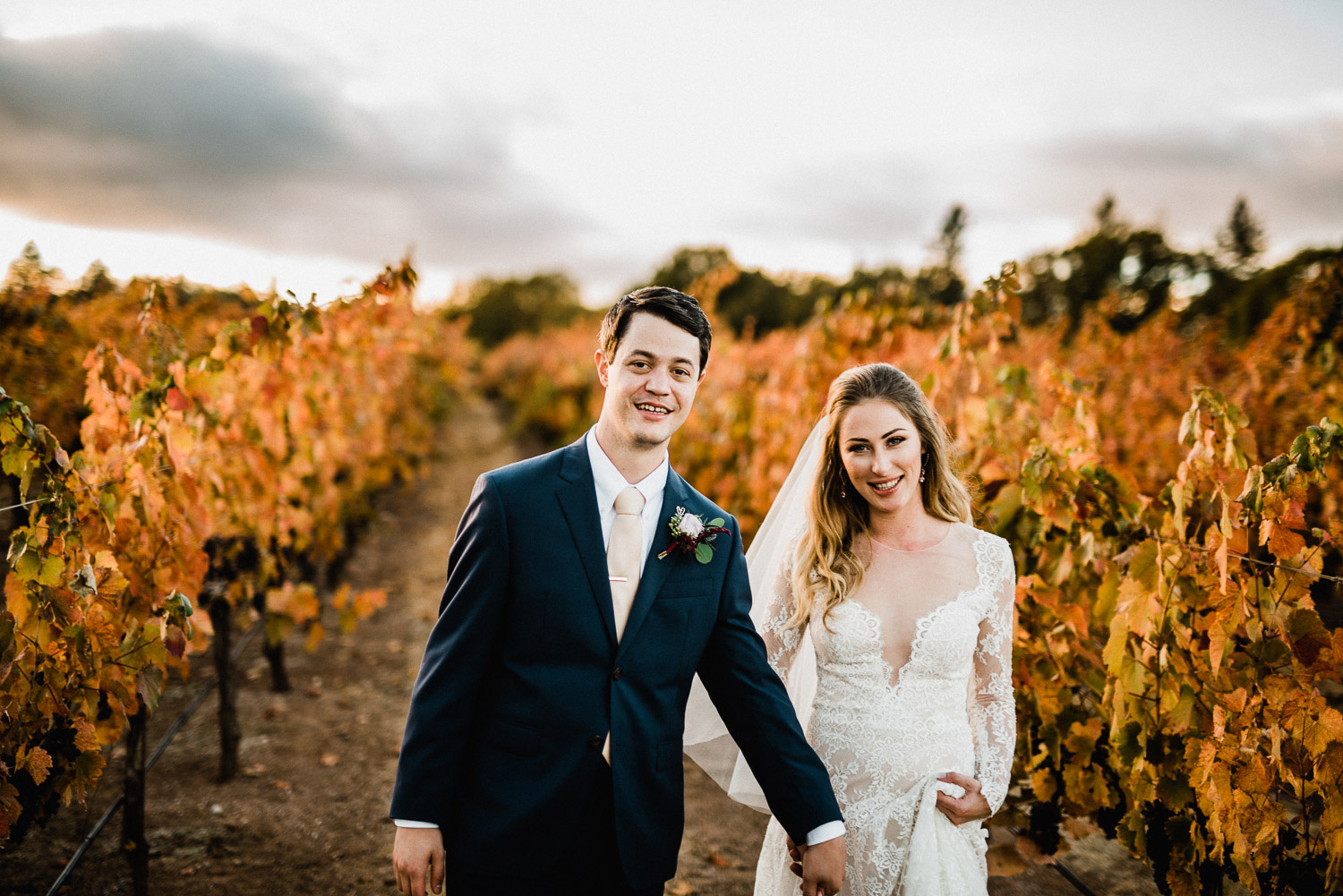 Fall Vineyard Wedding at Boatique Winery