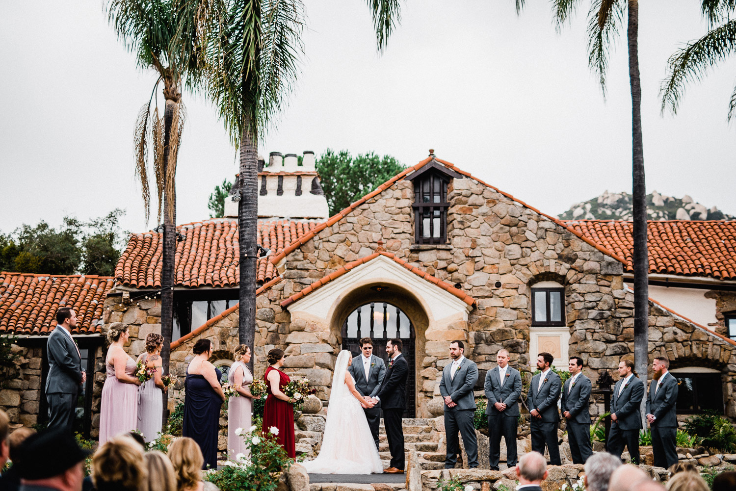 mt. woodson castle wedding