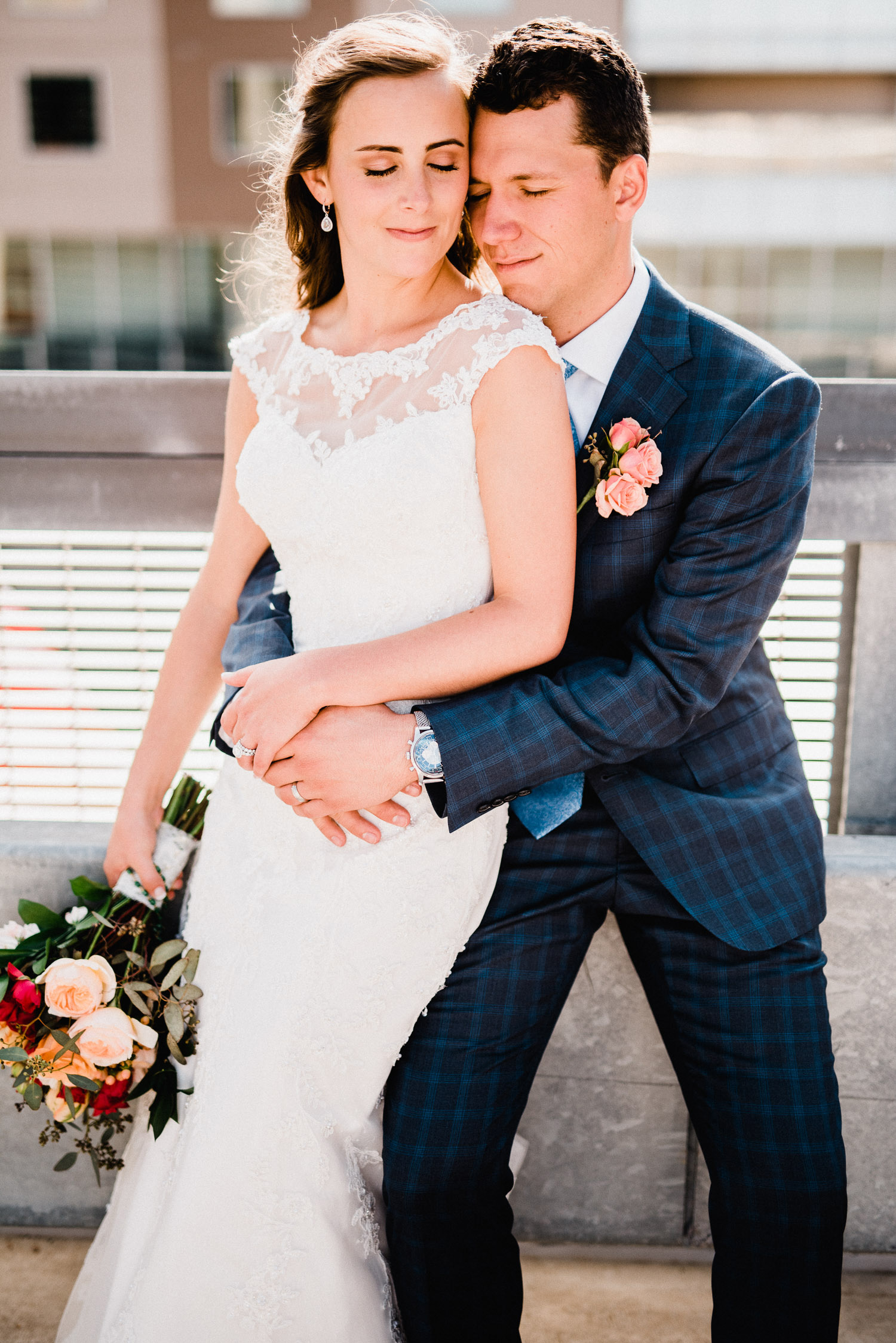 downtown denver wedding photos