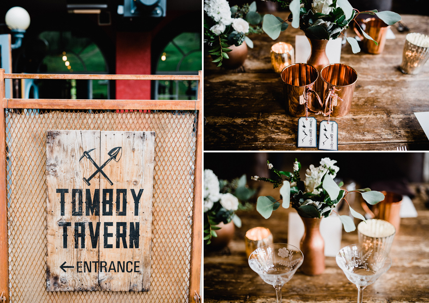 tomboy tavern wedding details